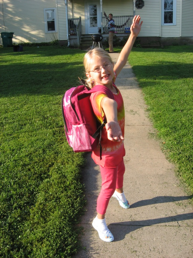Haven's First Day at 2nd Grade 003